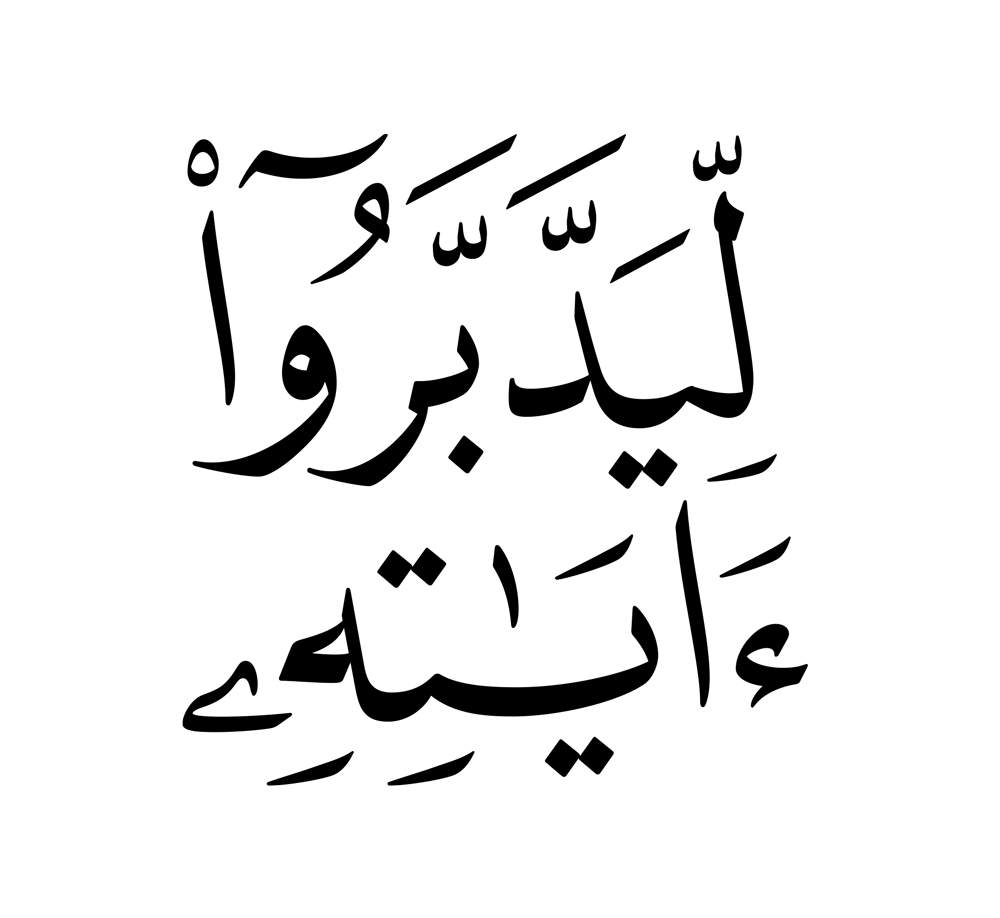 038029 ليدبروا آياته
